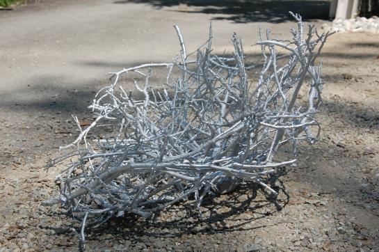 Nido - 2014 - aluminium - cm d/120 - private collection Asilo Bianco, Ameno (NO)